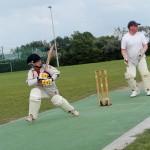 Michael Lynch batting