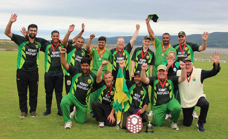 Kerry Cricket Club win Munster Senior Cup in 2018